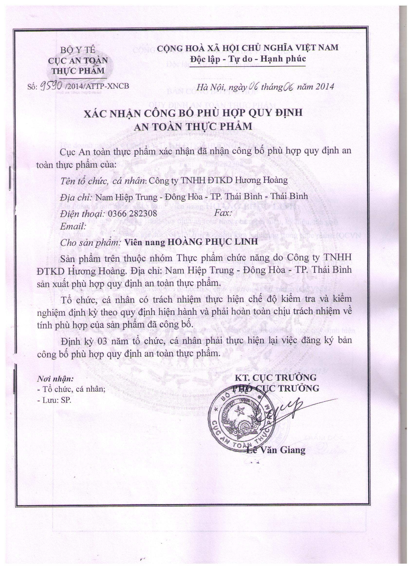 HH 14.6.6 Hoang Phuc Linh