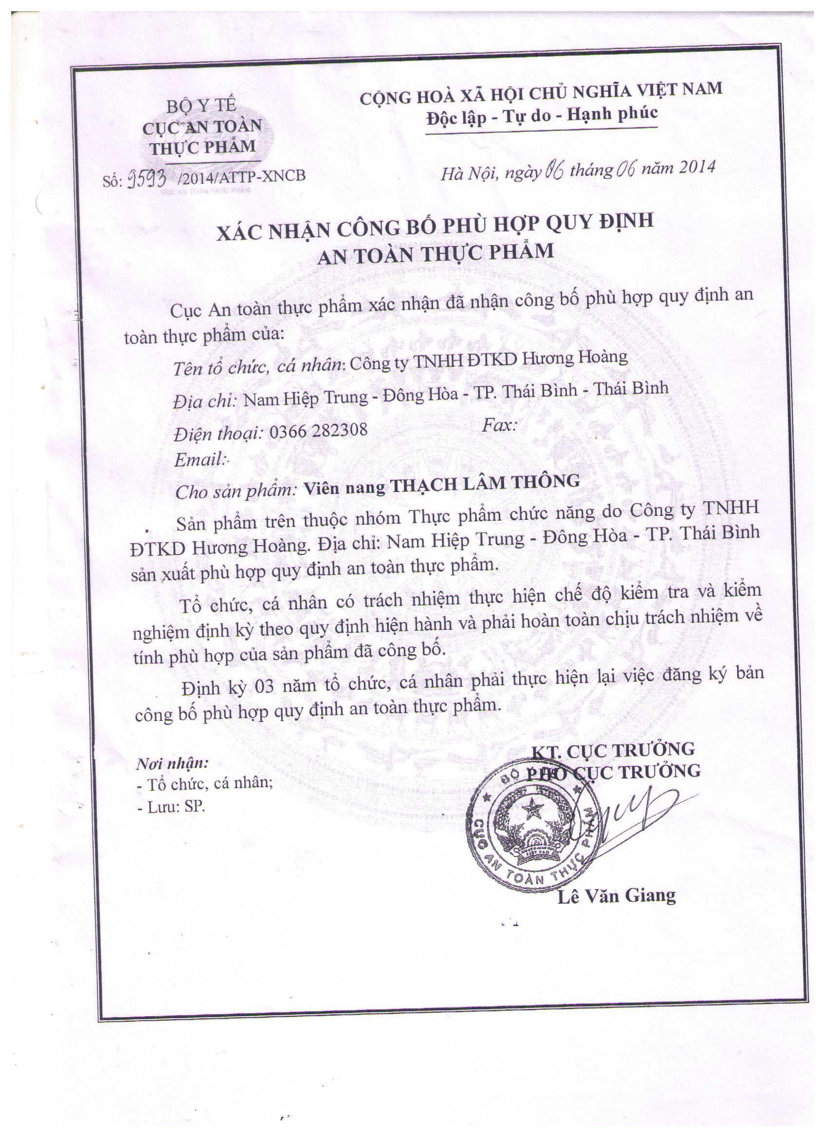 HH 14.6.6 Thach lam thong