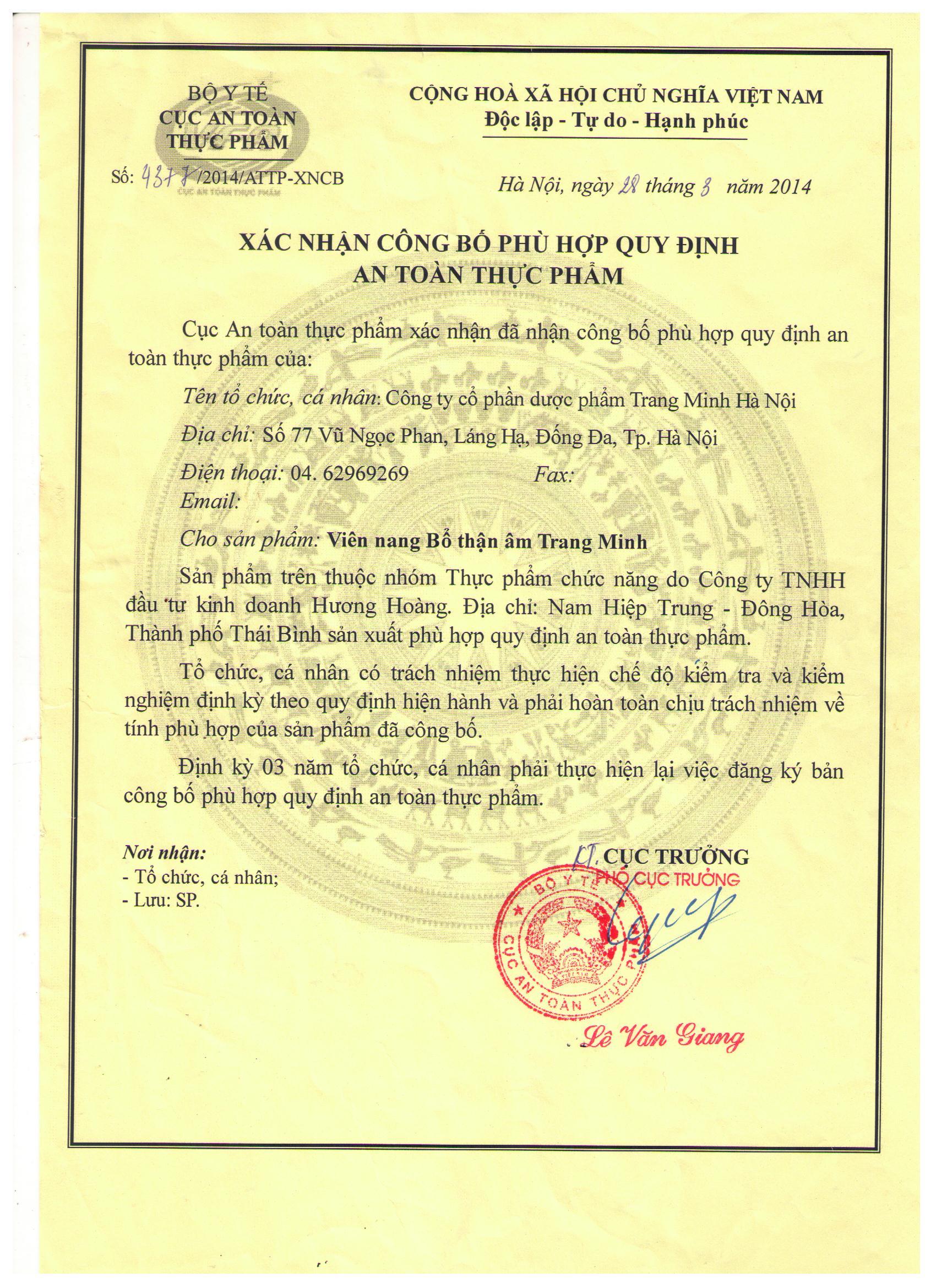 HN 14.3.28 Vien nang Bo than am Trang Minh