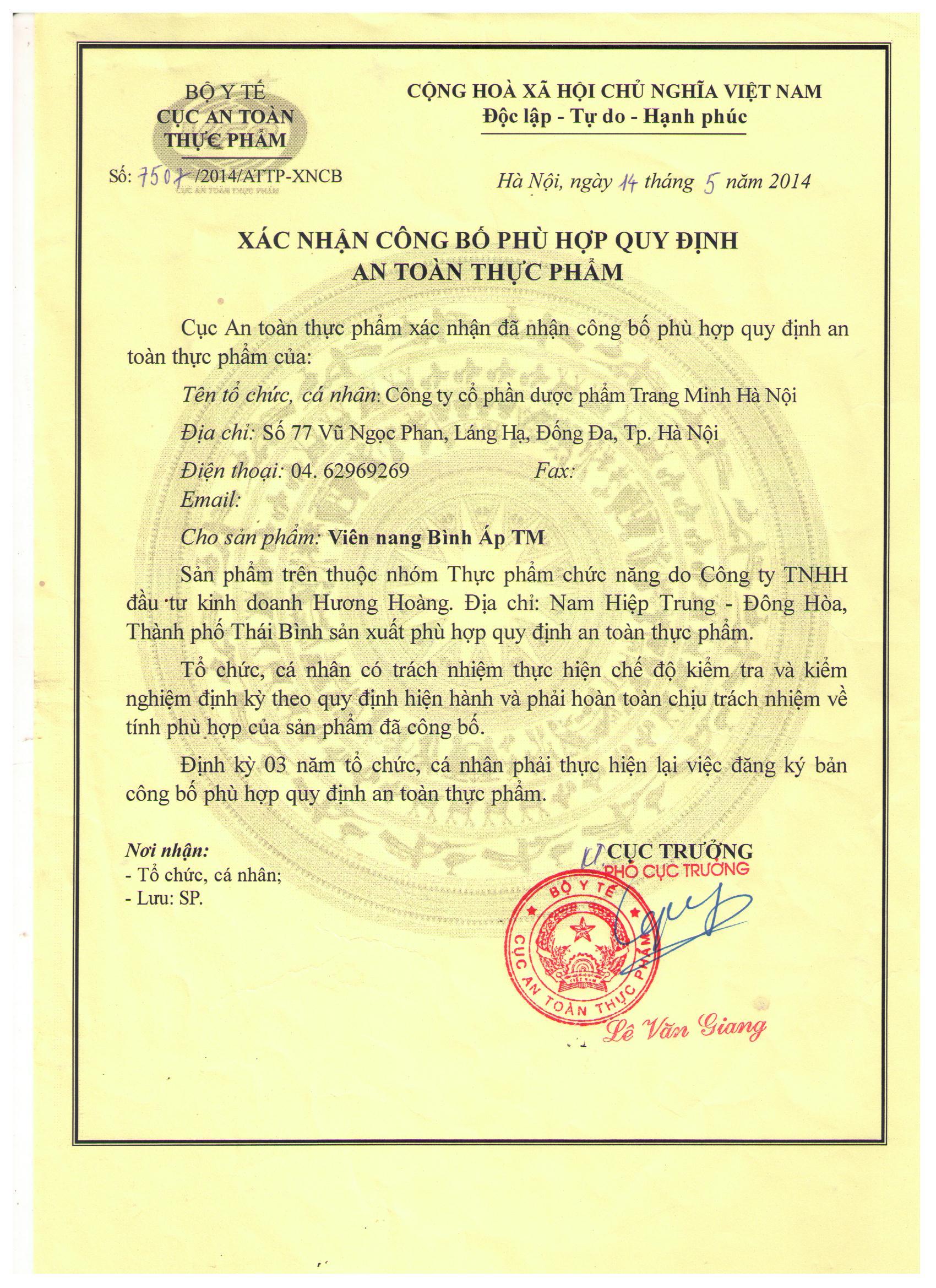 HN 14.5.14 Vien nang Binh Ap TM