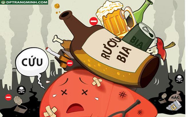 lạm dụng rượu bia