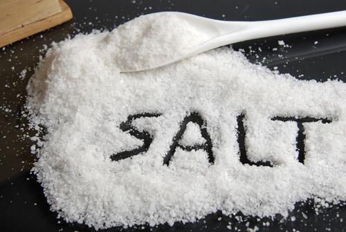 tác hại của muối