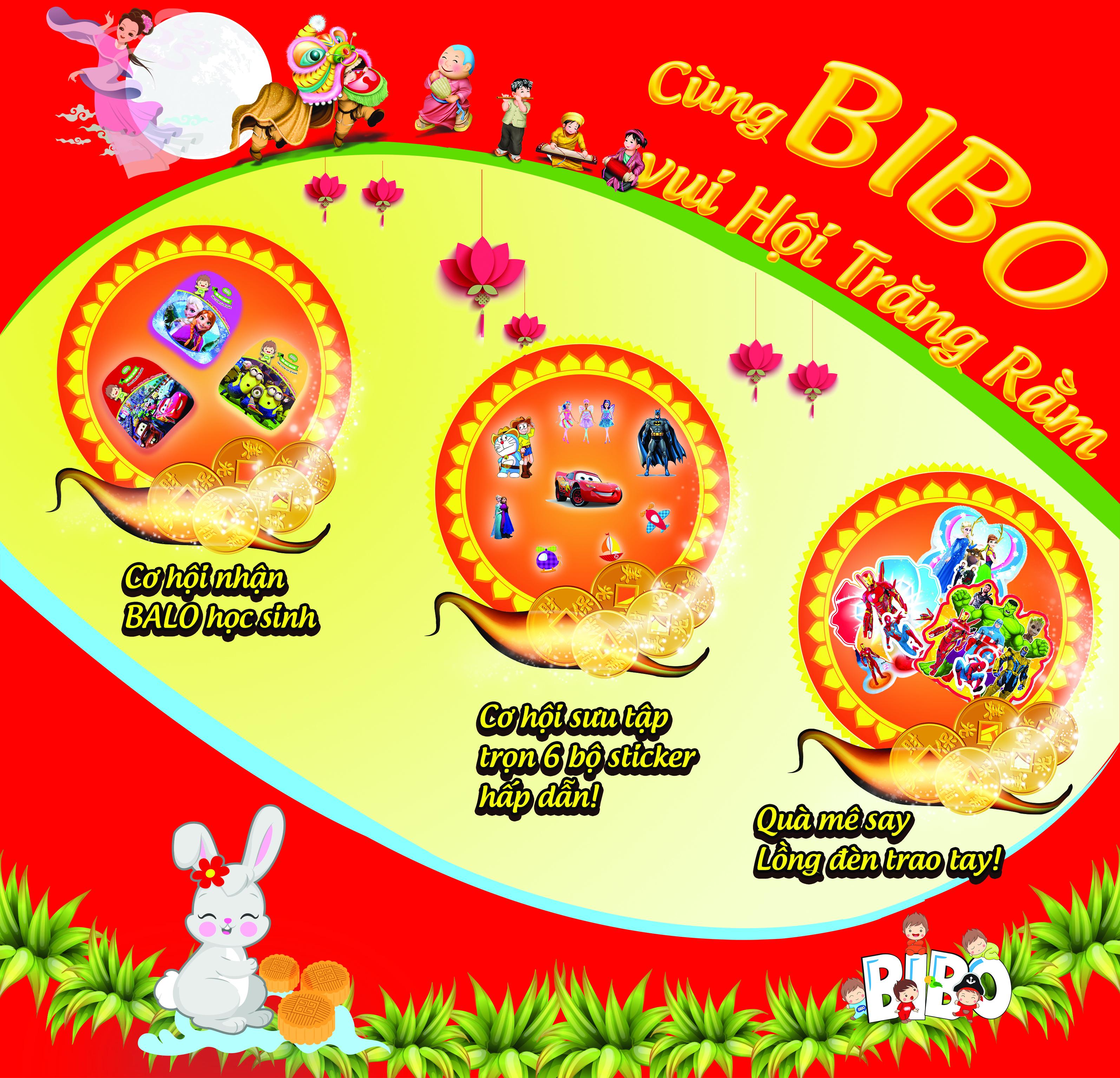 Cùng BIBO vui hội trăng rằm