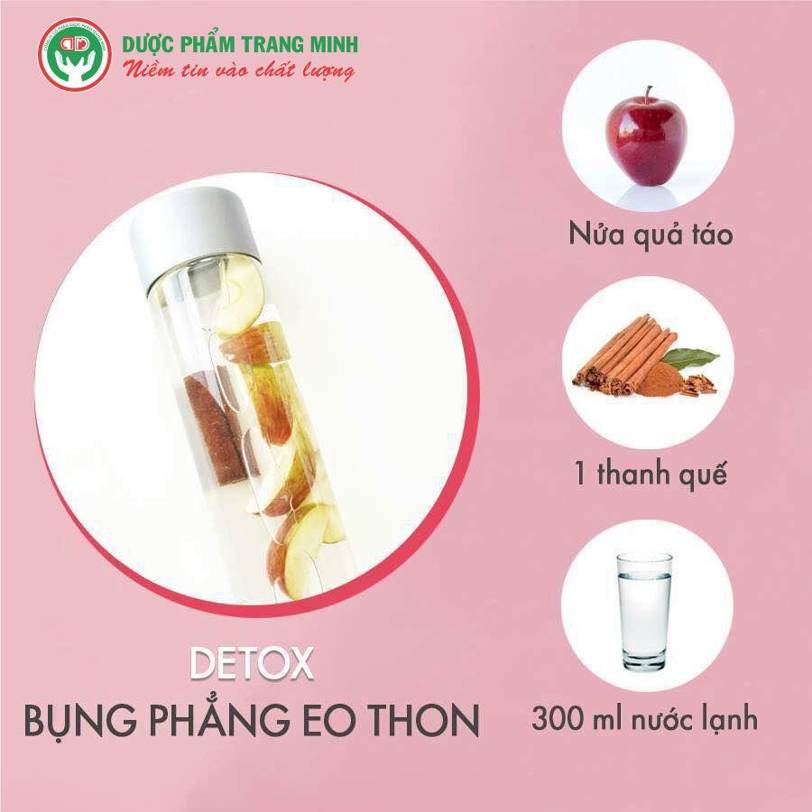 Công thức Detox cho bụng phẳng eo thon